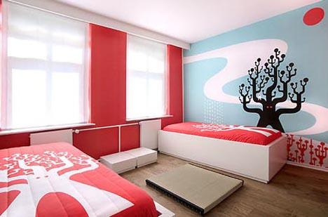 Artist-Designed Interiors: Art Hotel Bedroom Designs