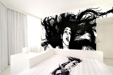 Artist Designed Interiors Art Hotel Bedroom Designs