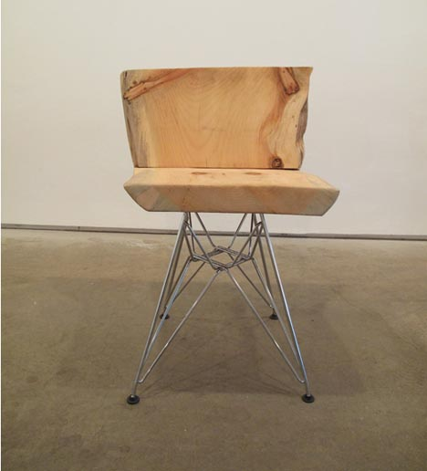 block-of-chunk-wood-chair