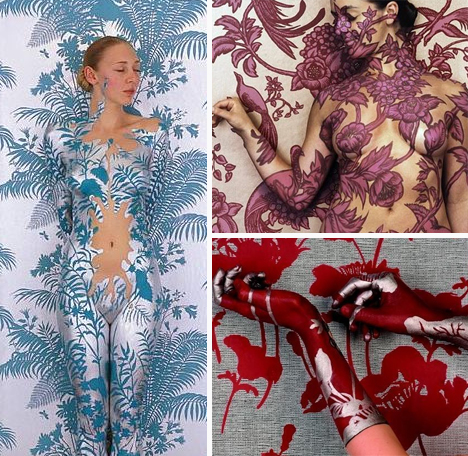 Camouflage Female Forms Make Beautiful Bodies Of Art