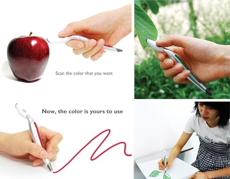 Scan and Draw Color Changing Pen