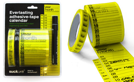 creative-calander-sticky-wall-tape