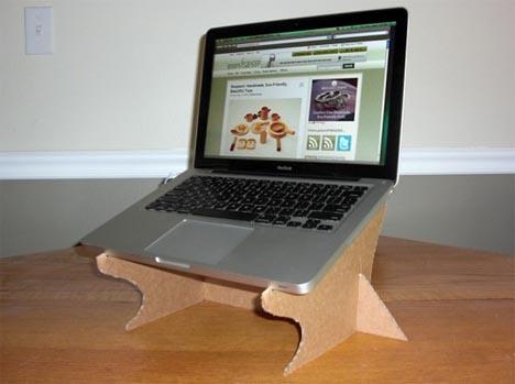 Diy Creative Cardboard Laptop Stand