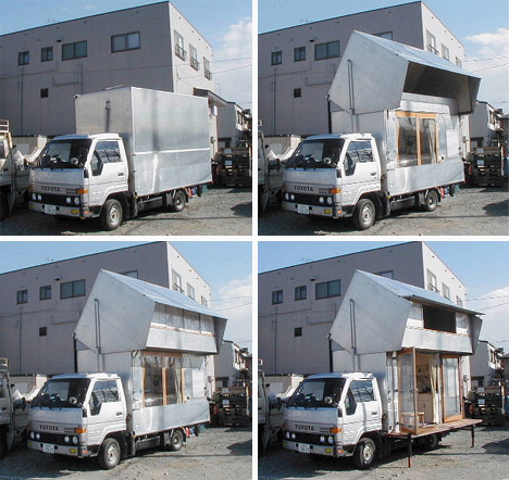 convertible camper diy japanese style mobile home - Home Built Truck Camper Plans