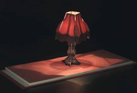 Books of lights creative fold out coffee table lamps aloadofball Choice Image