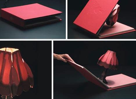 Fold Out Antique Paper Light