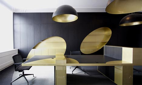 Glamorous High End Office Design