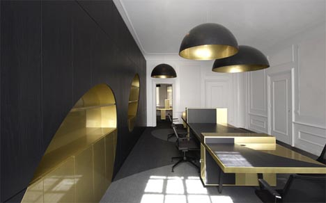 Glamorous Modern Office Interior Design