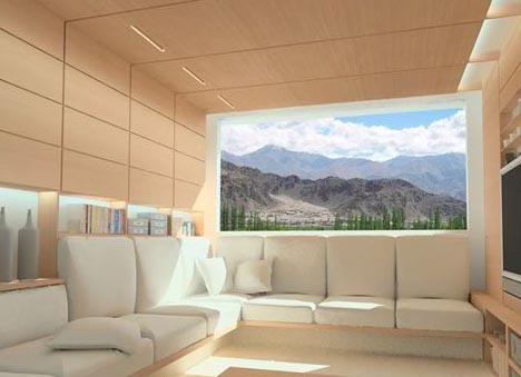 Green Creative Prefab Home Design