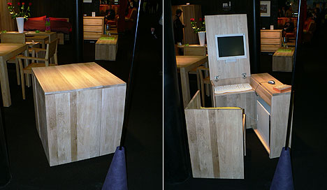 hidden-wooden-desk-chair-set