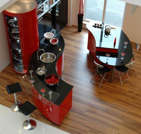 minimalist-colorful-modern-kitchen-design