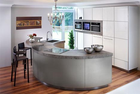 minimalist modern kitchen interior Colorful  Creative Minimalist Kitchen Design Ideas