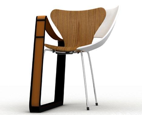 Frankenstein Furniture? Wood, Metal & Plastic Chair ...