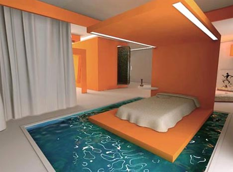 Water Beds, Take Two? Funky U0027Liquidu0027 Furniture Ideas