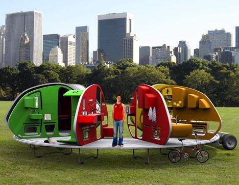 Portable Creative Camper Home Idea
