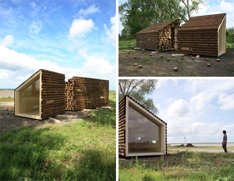 portable-prefabricated-log-cabin