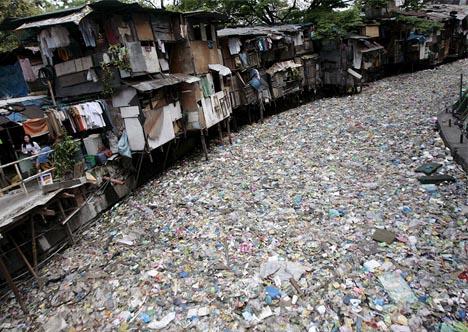 trash-river
