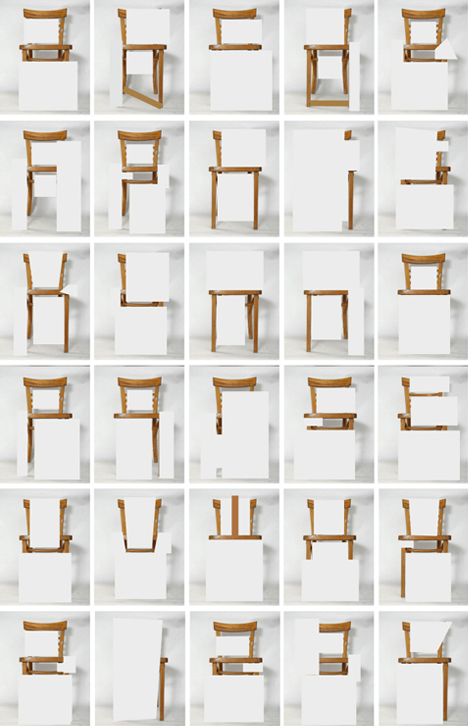 typography-chair-furniture-font