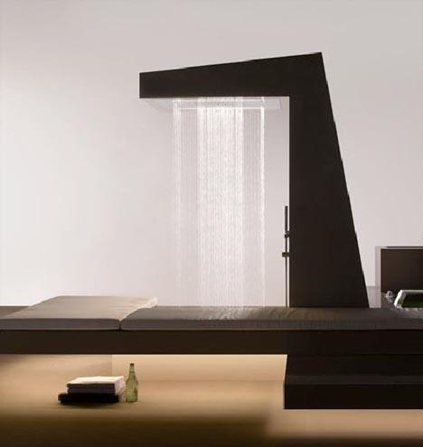 Ultra Luxurious High Volume Modern Shower Design