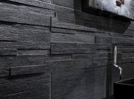 Convincing Fakes: Ceramic Tiles Look Like Real Wood