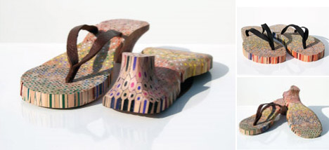 artistic-colored-wood-shoes