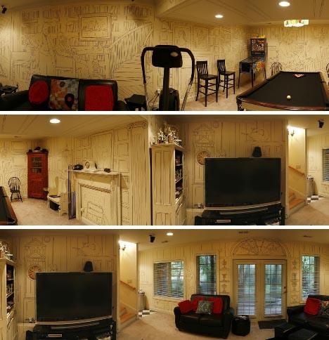 basement-diy-interior-redesign