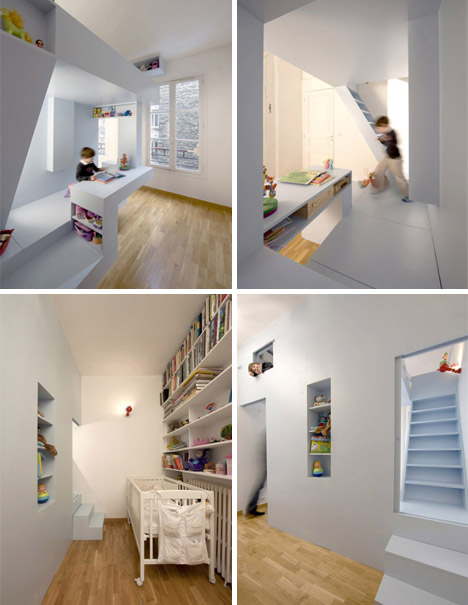 Creative Kids Room Ideas: All-in-One Creative Children's Bedroom & Playroom Design