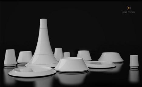 creative-modern-minimalist-tableware & Creative Portion-Control Plate Bowl u0026 Cup Designs