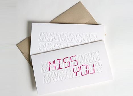 Diy led creative customizable greeting card design m4hsunfo