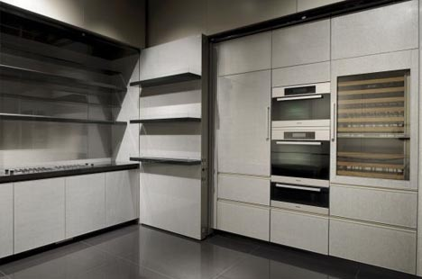 Hidden Modern Fold Out Kitchen. More Than Just Another Minimalist  Transforming Interior Design ...