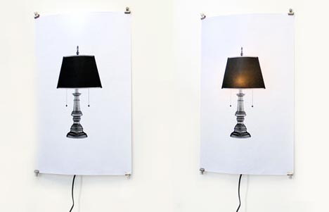 literal-chair-and-lamp-design