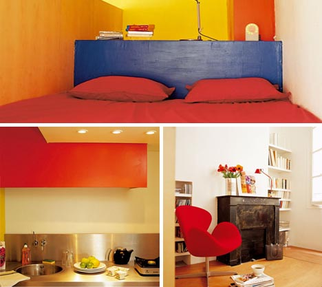 Simple Bedroom Designs For Small Spaces small-space living: simple loft bedroom design idea