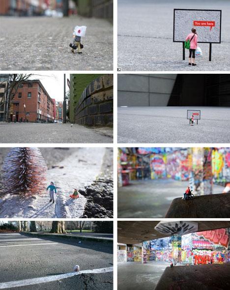 Tiny Art Installations Featuring Mini People Designs Amp Ideas On Dornob