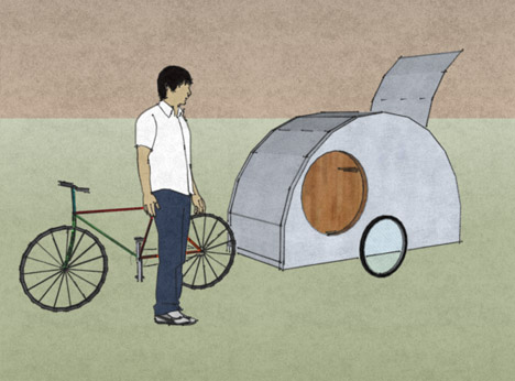 mobile-bike-pulled-shelter