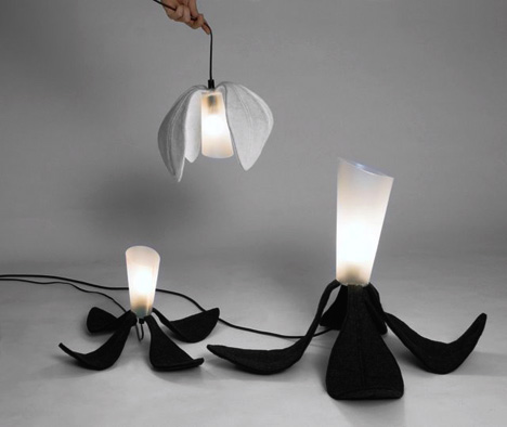 Foldable Home Lighting Fixtures