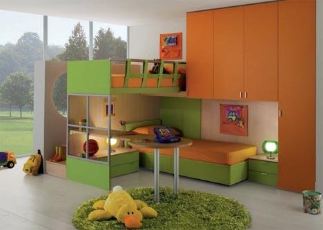 Interactive Interiors Convertible Kids Bedroom Furniture