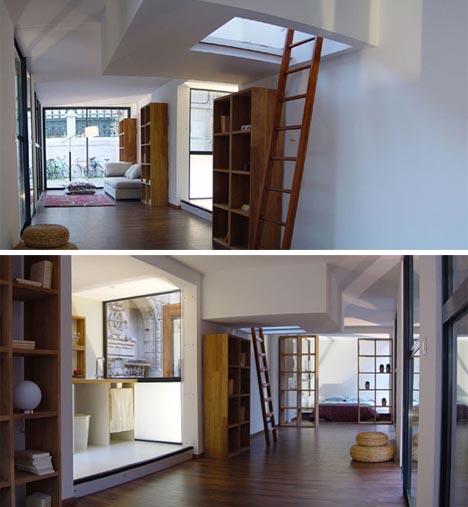 Portable Modular Glass Wood House1