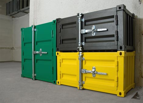 Extreme Industrial Design: Heavy Duty Metal Storage