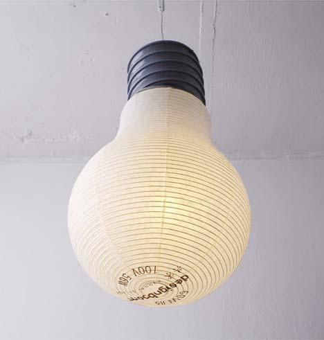 Giant Lightbulb Decor