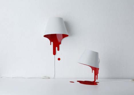unique-red-white-blood-lamp