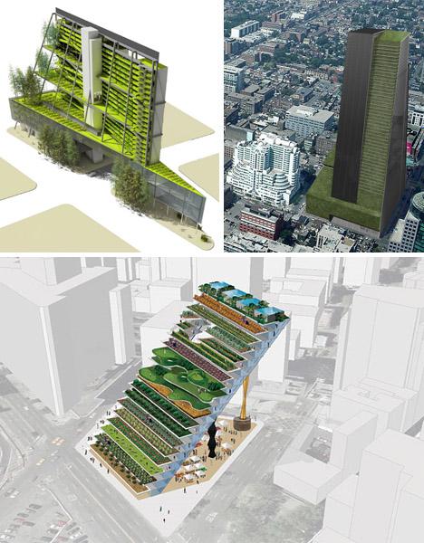 Urban Vertical Farm Design Ideas