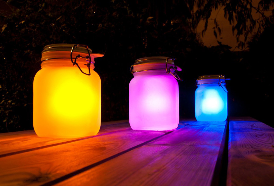 Make Your Own Eco Friendly Sun Jar Designs Ideas On Dor