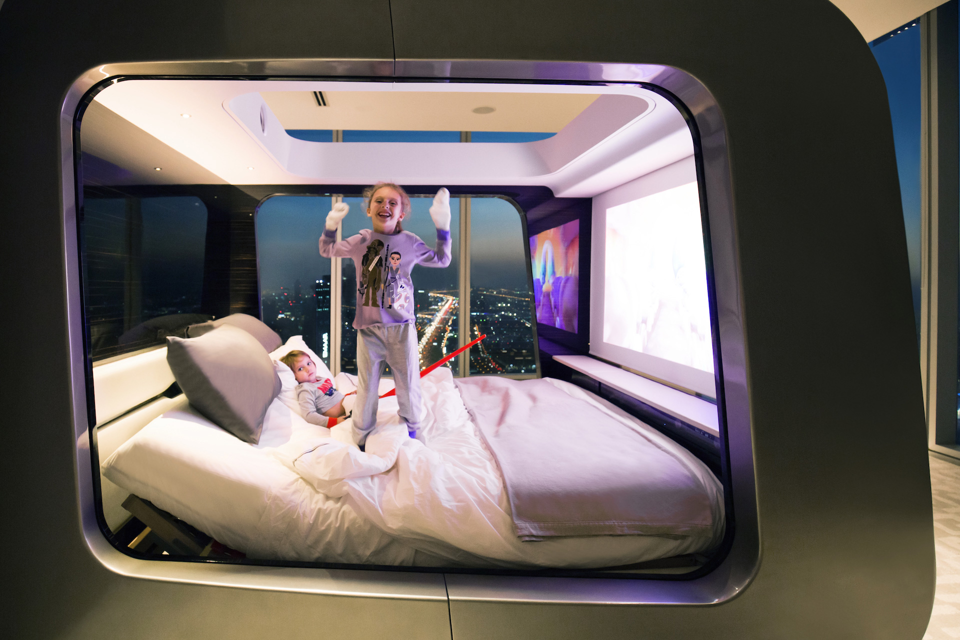 Picture of: High Tech Smart Bed With Built In Tv Designs Ideas On Dornob
