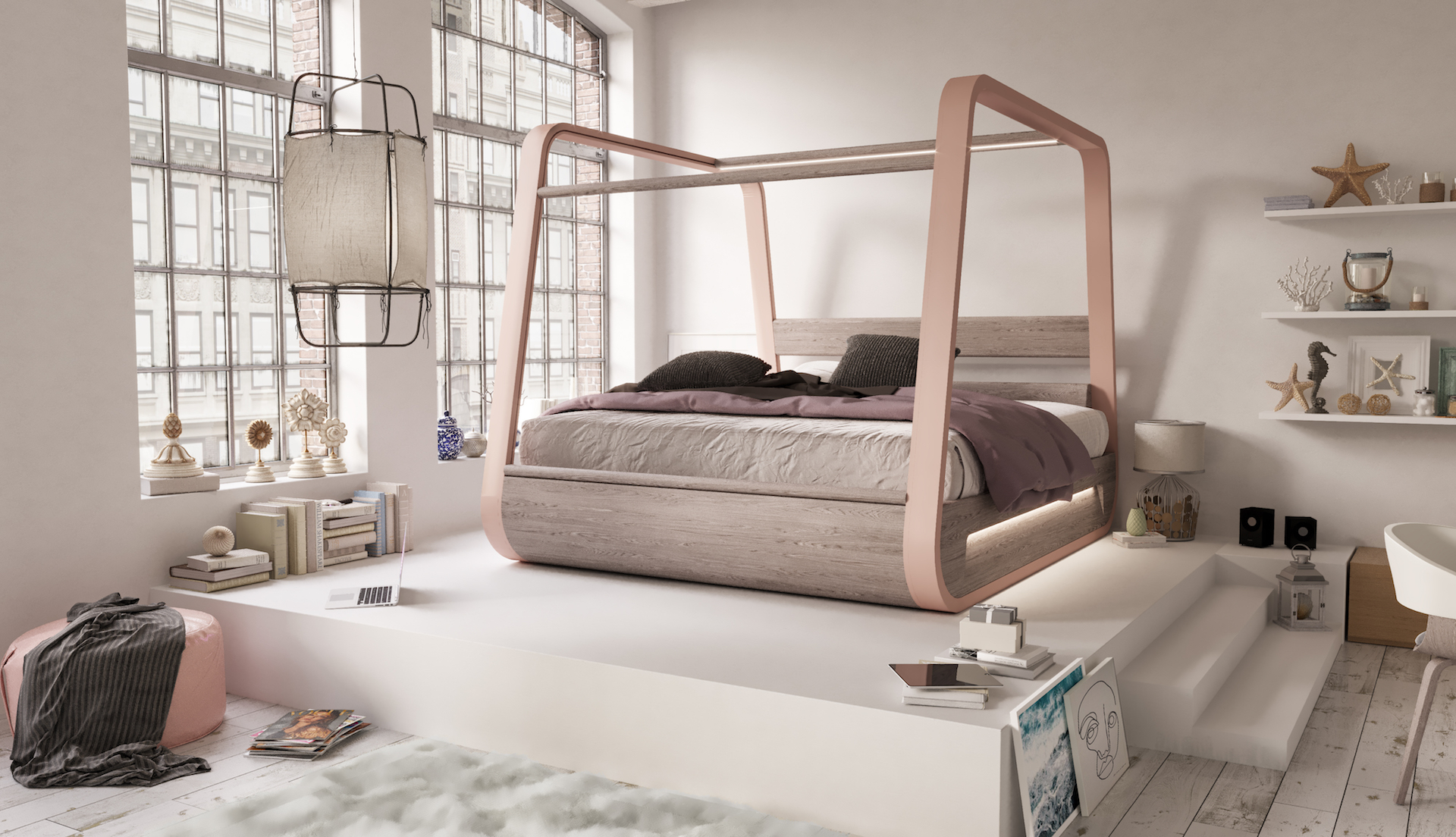 High Tech Smart Bed With Built In Tv Designs Ideas On Dornob