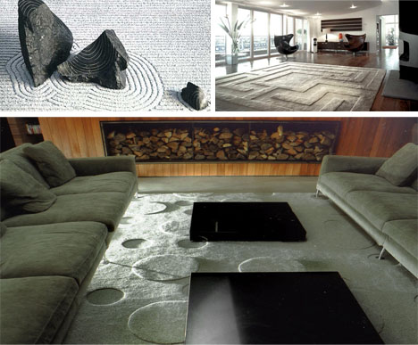 abstract modern rug patterns