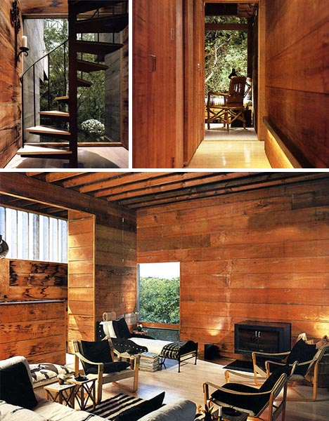Home And Insurance House With Woods Interior