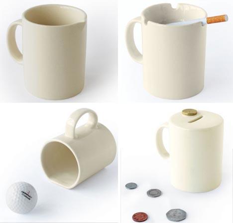 alt ash tray coffee mug