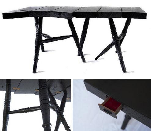 antique artistic table design