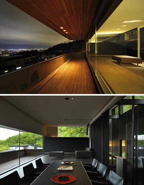 creative japanese modern home