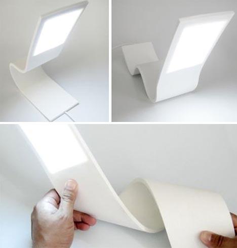custom bendable lamp design